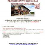 Promoción VII Jornadas Gastronómicas de Cuaresma
